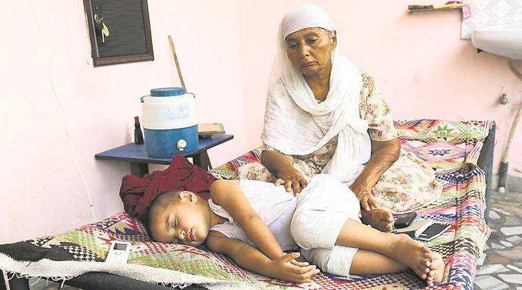 pregnant woman killed, manjeet, forced abortion, belly pressed, girl child, sex determination,