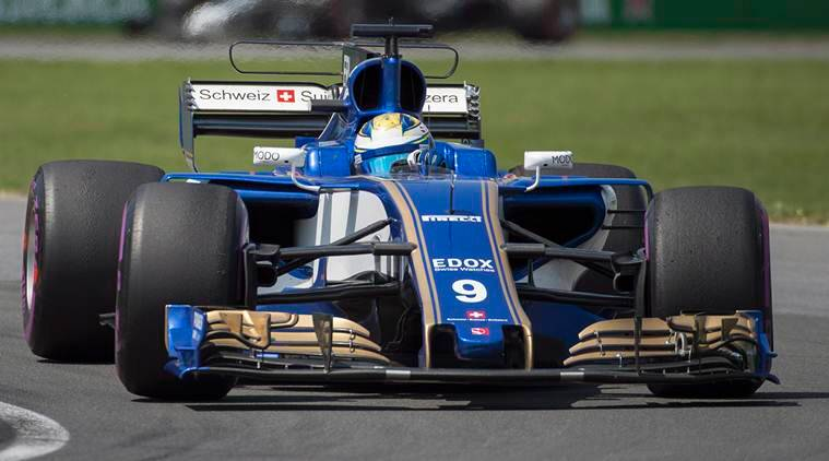 Marcus Ericsson, Sauber, Indian Express