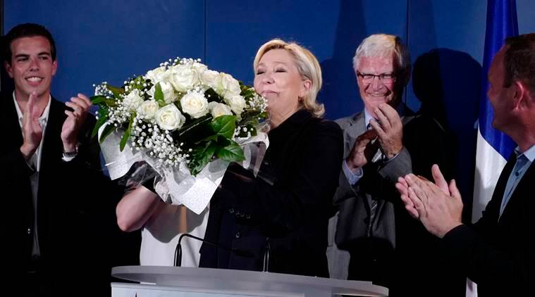 Marine Le Pen, French right leader, french parliamentary elections, french elections