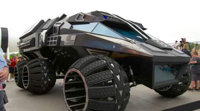 NASA, Mars rover concept, Robotic mars rover , Mars Rover 2020,Kennedy Space Centre, Rover concept vehicle,