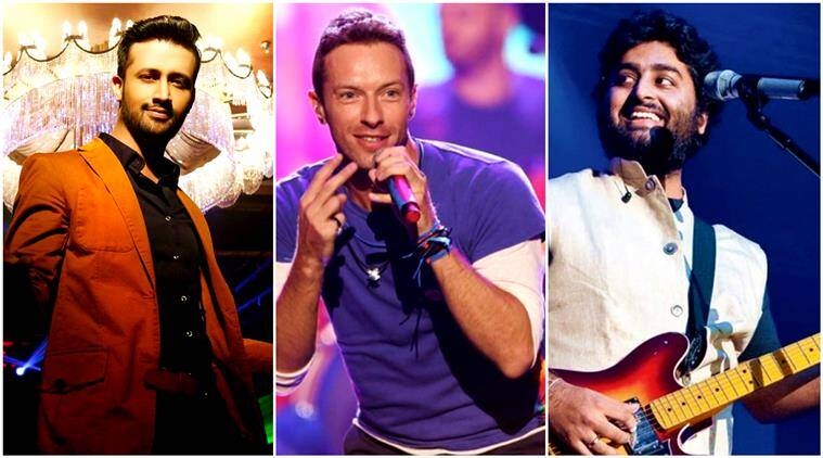 Arijit Singh, atif aslam, coldplay mashup arijit singh atif aslam coldplay, mashup by soulful, soulful youtube video, indian express, indian express news