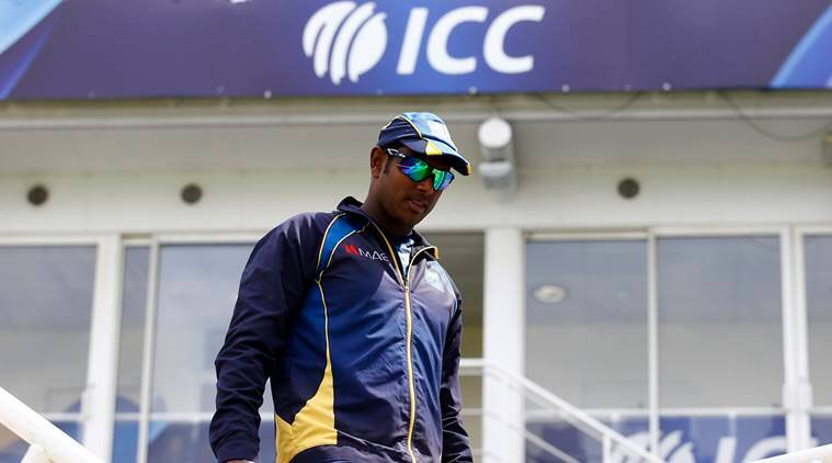 Angelo Mathews, mathews, ICC Champions Trophy 2017, champions trophy, sri lanka, south africa, india, cricket, sports news, indian express