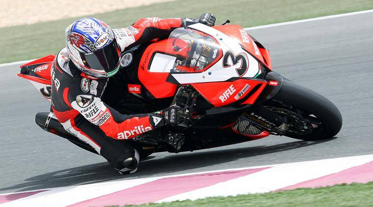 Retired motorcycle racer max biaggi seriously injured the indian biaggi won world superbikes titles in 2010 and 2012 and was also a four time champion in the 250cc class of the motogp series altavistaventures Gallery