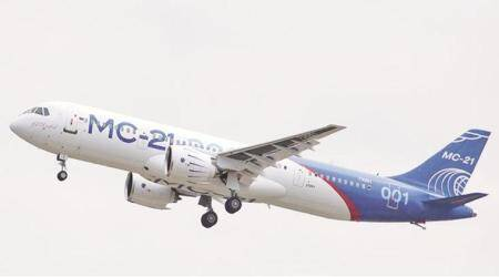 MC-21, MS-21, russia, russia aircraft, russia commercial passenger aircraft, Boeing 737, Airbus A320, explained news
