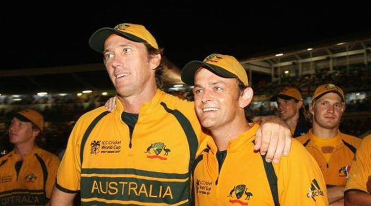 adam gilchrist, glenn mcgrath, cricket news, indian express