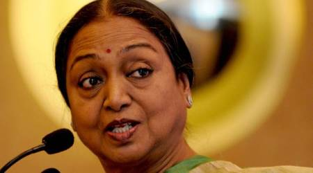 Meira Kumar meets Congress, DMK MLAs in Puducherry; seeks support
