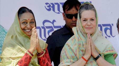 Presidential Polls, Meira Kumar, Presidential Nominations, Sonia Gandhi