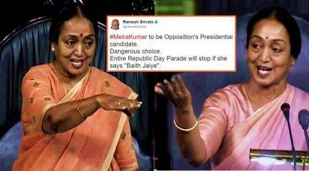 Twitterati react to Opposition picking Meira Kumar as 2017 presidential candidate