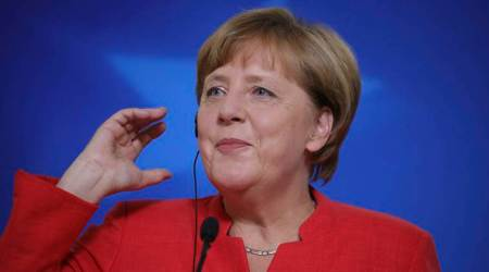 Angela Merkel criticizes hecklers in German election campaign