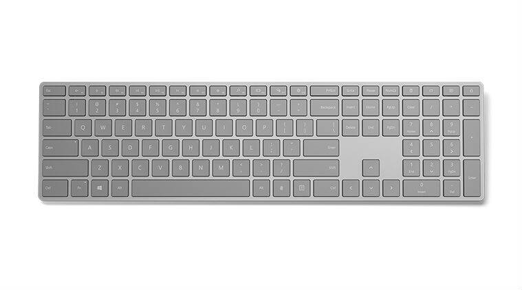 Microsoft, Modern Keyboard, Modern Keyboard with fingerprint scanner, Windows 10