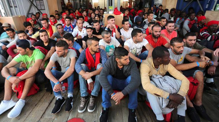 migrants to Europe,  Mediterranean sea, European Union's Mediterranean mission, European union on migrants, world news, indian express news