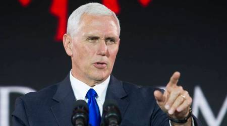 Mike Pence returning, Pence returning to Indiana, Pence official portrait, world news ,Indian express news