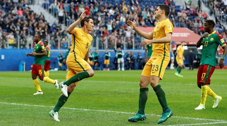 Confederations Cup: Australia, Cameroon draw 1-1, chances of knockout stages hit