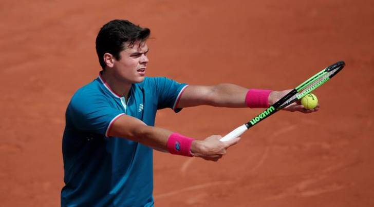 french open, milos raonic, raonic, french open 2017, rolland garros, tennis news, sports news, indian express