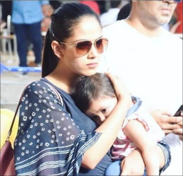 misha kapoor, misha cute photos, misha kapoor age, shahid kapoor daughter birthday, shahid kapoor
