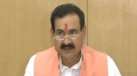 EC disqualifies MP minister Narottam Mishra for three years over alleged corruption