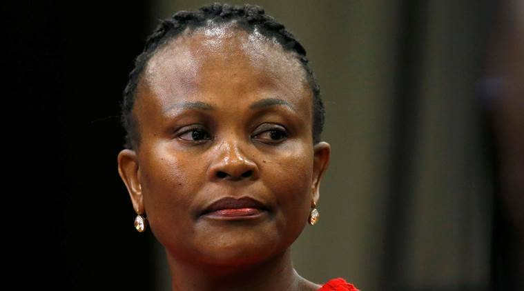 South aftrica, south africa anti-graft chief, Busi Mkhwebane, south africa bank, South Africa, latest news, latest world news
