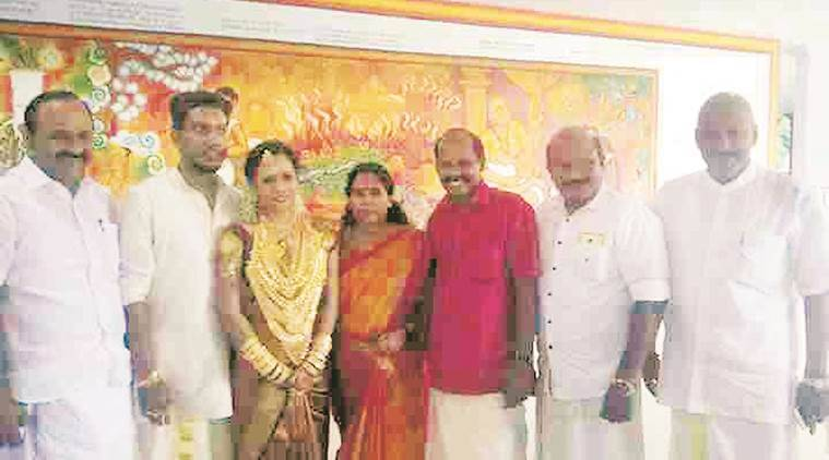 Geetha Gopi, CPI, Geetha Gopi daughter, daughter wedding, extravagant wedding, indian express news, india news