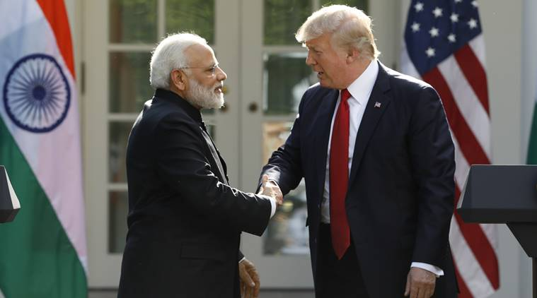 narendra modi, donald trump, modi social media, trump social media, narendra modi twitter, modi US visit, modi in US, modi trump meeting, modi trump briefing