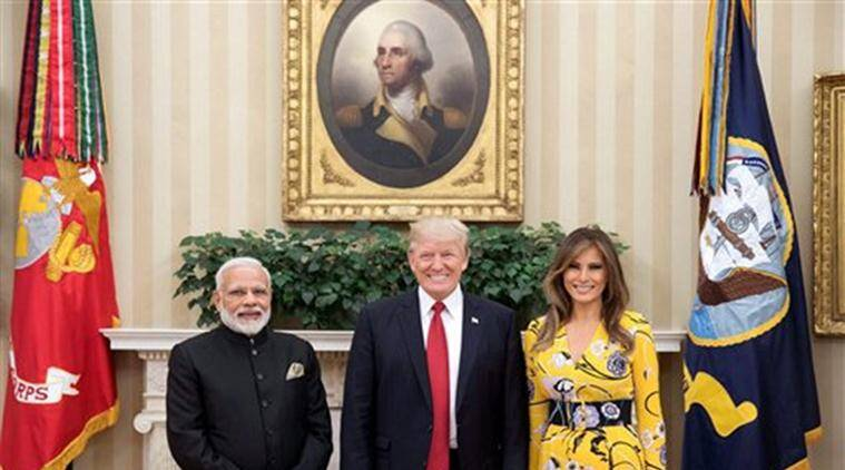 modi trump meet, narendra modi, donald trump, modi trump meeting, pakistan, north korea, china, india trade matters, india economic ties, indo us nuclear deal, india news, indian express, indian express news