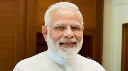 narendra modi, modi in rajkot, modi rajkot visit, rajkot bus service, rajkot bus service suspended, rajkot municipa corporation, indian express news, india news