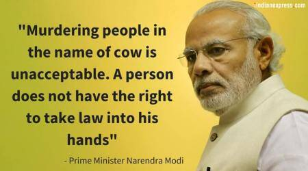 Watch video: PM Modi lashes out at gau rakshaks, slams killing in name of cow