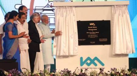 Kochi Metro: PM Modi inaugurates rail services, says project essential to tackle rising population
