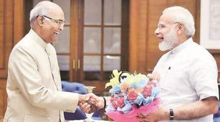 PM Modi congratulates Ram Nath Kovind on presidential polleve
