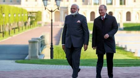 Sochi informal summit LIVE: PM Narendra Modi arrives in Russia, to meet President Putin shortly