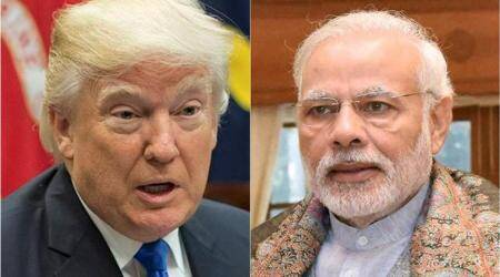 Modi, Trump, modi trump, Donald trump, modi us visit, narendra modi, china, south china sea, US china, India china, climate change, latest news, latest world news