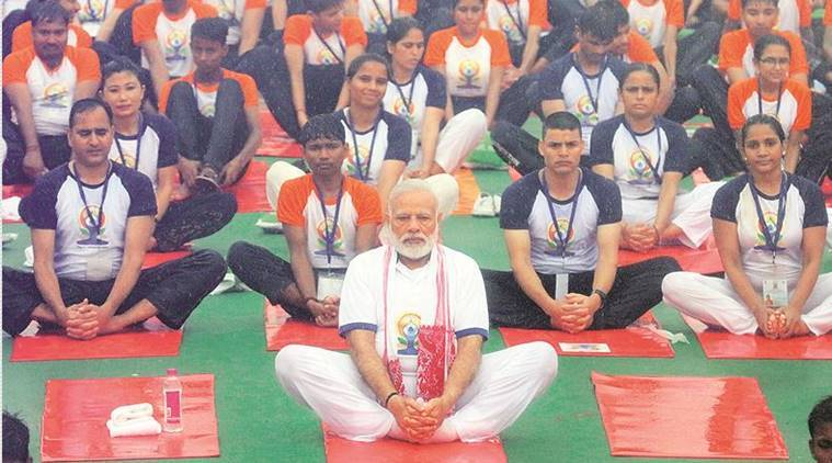 government news, international yoga day news, india news, indian express news