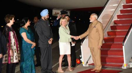 PM Narendra Modi arrives in Washington, to meet US President Donald Trump tomorrow