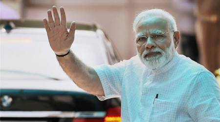 PM Narendra Modi to release coin, stamp on Gandhi's spiritual guru