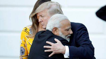 Modi-Trump meeting: 'We are going to have a very special... very intimate toast'