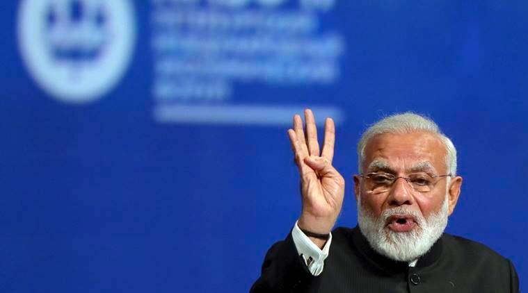 PM Narendra Modi, India-Russia, Vladimir Putin, Paris climate agreement, UN climate deal, US withdraws-Paris climate deal, india news, global warming, indian express
