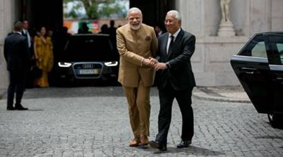 Modi Portugal visit, Modi in Portugal, Modi meets Portugal PM, PM Mdoi three nation tour, António Costa Narendra Modi, PM modi news, Latest news, India news, National news