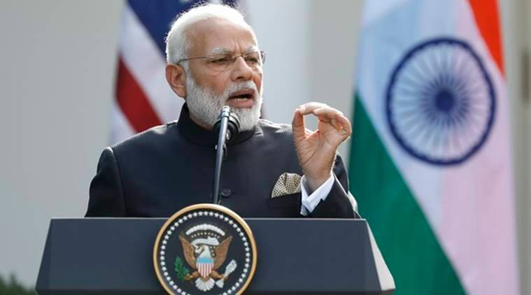 narendra modi news, donald trump news, india news, indian express news