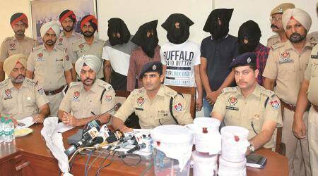 Gang of history-sheeters busted, arms seized
