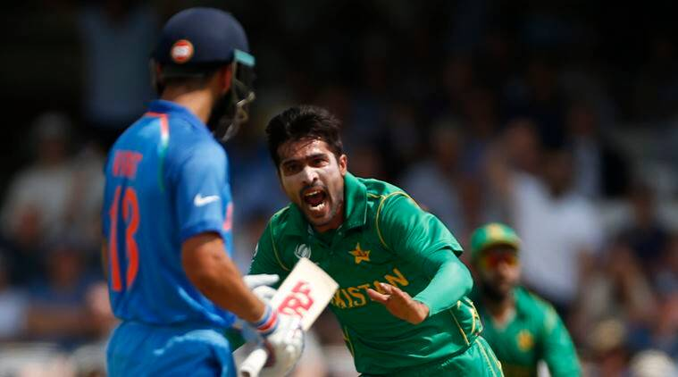 India vs Pakistan, Mohammad Amir, Champions Trophy 2017 final, The Oval, Virat Kohli, Rohit Sharma, Shikhar Dhawan
