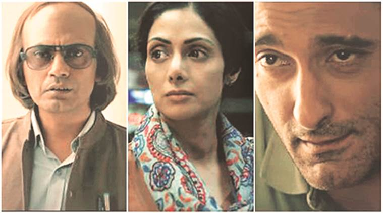 Mom, Mom photos, sridevi, nawazuddin siddiqui, akshaye khanna, mom film