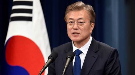 "President Moon Jae-in says ""no more war on Korean peninsula"", urges North Korea to halt provocations"