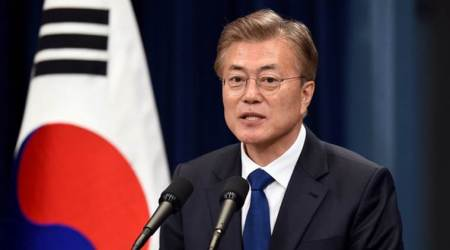 South Korea's President Moon Jae-in says plans to exit nuclear power