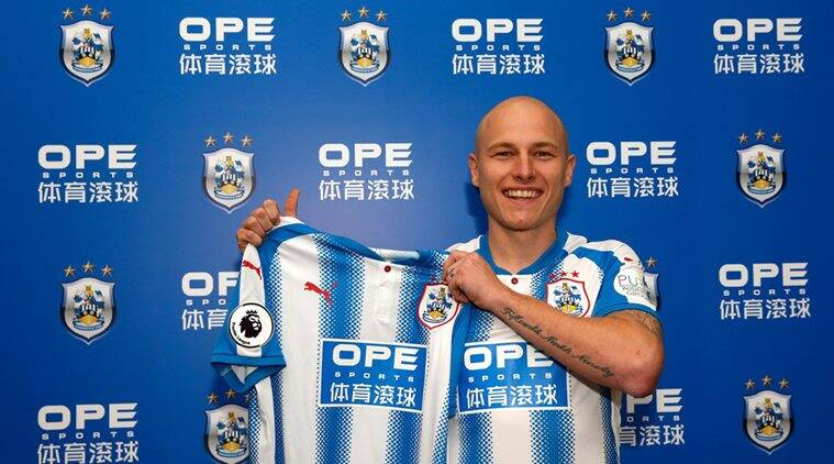 Premiere League Football, Huddersfield town, Aaron Mooy, Manchester City, Football news, sports news, indian express