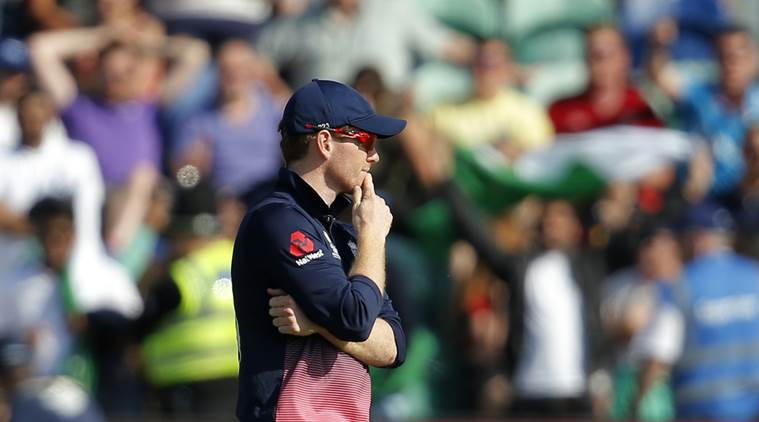 Waqar Younis, eoin morgan, younis, morgan, england vs pakistan, icc champions trophy 2017, champions trophy, cricket, sports news, indian express