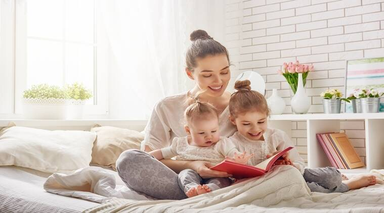 mother and children, relationship between a mother and a child, reasons why a child should sleep alone, sleeping habits of children, indian express, indian express news