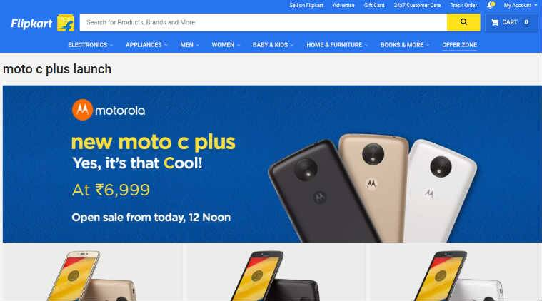 Moto C Plus reportedly sold out and out of stock in India