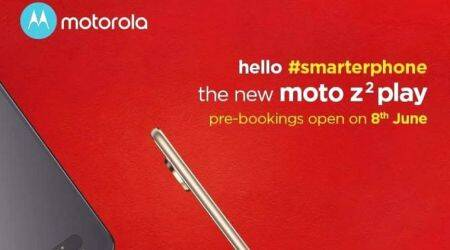 Moto Z2 Play India pre-bookings to open on June 8, includes Moto Mods aswell