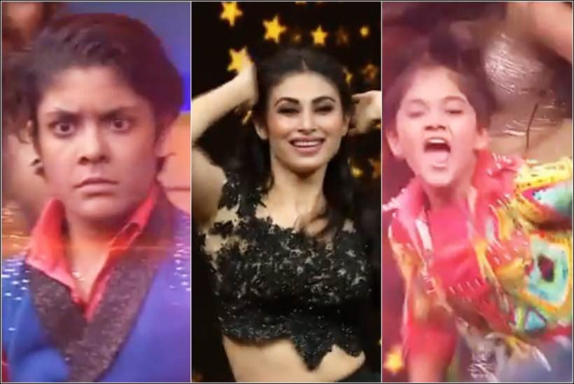 mouni roy, mouni roy salman khan, mouni roy supernight with tubelight performance