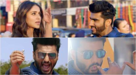 Mubarakan song Hawa Hawa: Arjun Kapoor dances on the streets asking Ileana D'Cruz, 'boyfriend bana le', watch video