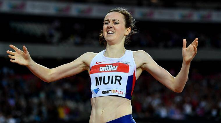 Laura Muir, Athletics, Andy Young, sports news, Indian express